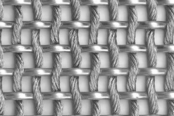 Cable metal mesh with one 3mm cable mesh.