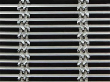 Cable metal mesh with four 2mm cable mesh.