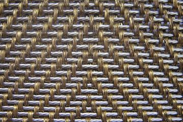 Cable metal mesh with three copper cable mesh.