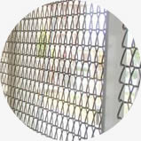Various kinds of metal mesh can be used in the handrail and balustrade.